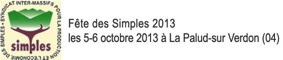 Fête des Simples 2013 - Retrouvez l'équipe d'Herbiolys