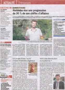 Article le dauphiné février 2012