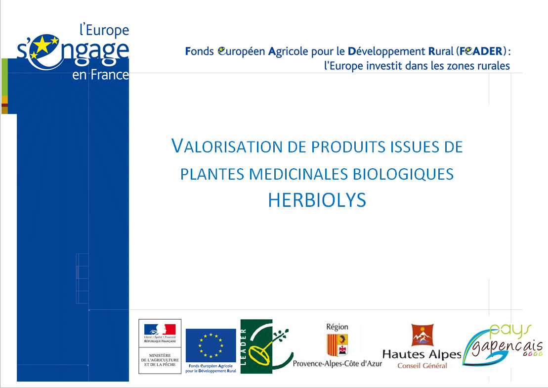 Engagement des acteurs publics en soutient au développement d'Herbiolys