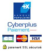 Logo Banque populaire Paiement sécurisé Herbiolys
