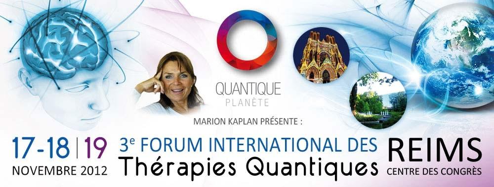3ème congrès international des thérapies quantiques