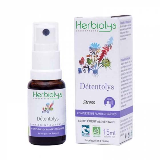 Complexe de plantes fraîches BIO Détentolys SPRAY 15ml – Herbiolys