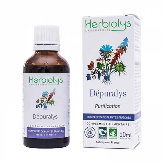 Complexe de plantes fraîches BIO Dépuralys – Herbiolys