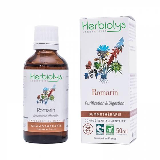 Macérat de bourgeon de Romarin frais BIO - Herbiolys Gemmothérapie