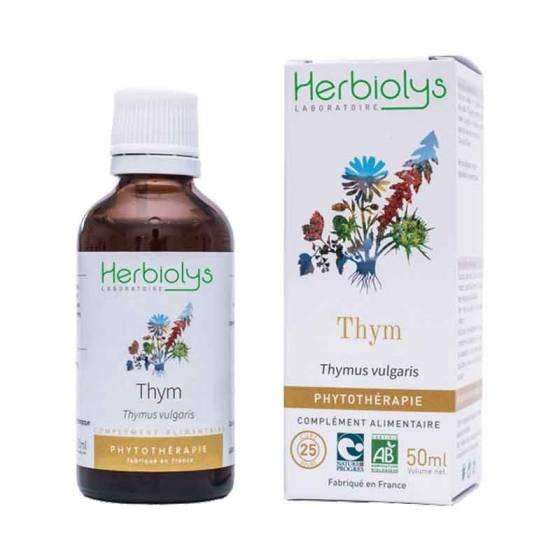 Teinture mère de Thym frais BIO - Phytothérapie Herbiolys