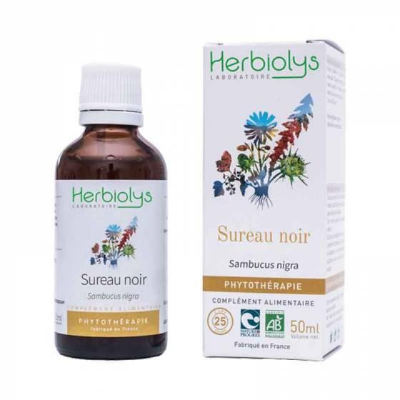 Teinture mère de Sureau noir frais BIO - Phytothérapie Herbiolys