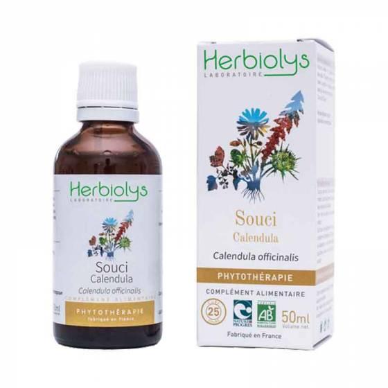Teinture mère de Souci (Calendula) frais BIO - Phytothérapie Herbiolys