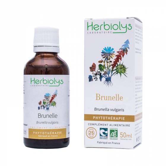 Teinture mère de Brunelle fraîche BIO - Phytothérapie Herbiolys