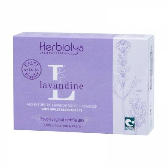 Savon à froid Lavandine certifié BIO Nature & Progrès – Herbiolys