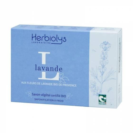 Savon à froid Lavande certifié BIO Nature & Progrès – Herbiolys