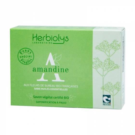 Savon à froid Amandine certifié BIO Nature & Progrès – Herbiolys