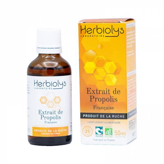 Propolis française fraîche BIO - Produits de la ruche Herbiolys