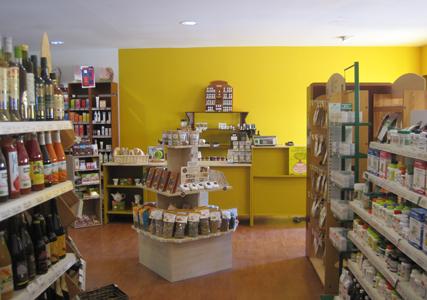 Herbiolys magasin bio Biorhuys Sarzeau Bretagne