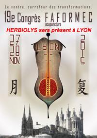 Banière Faformec 2015 Lyon - Herbiolys
