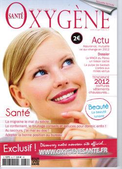 Article Oxyène santé mars avril 2012 herbiolys