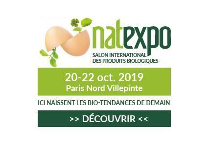 Herbiolys participe au salon NATEXPO du 20 au 22 octobre 2019 à Paris